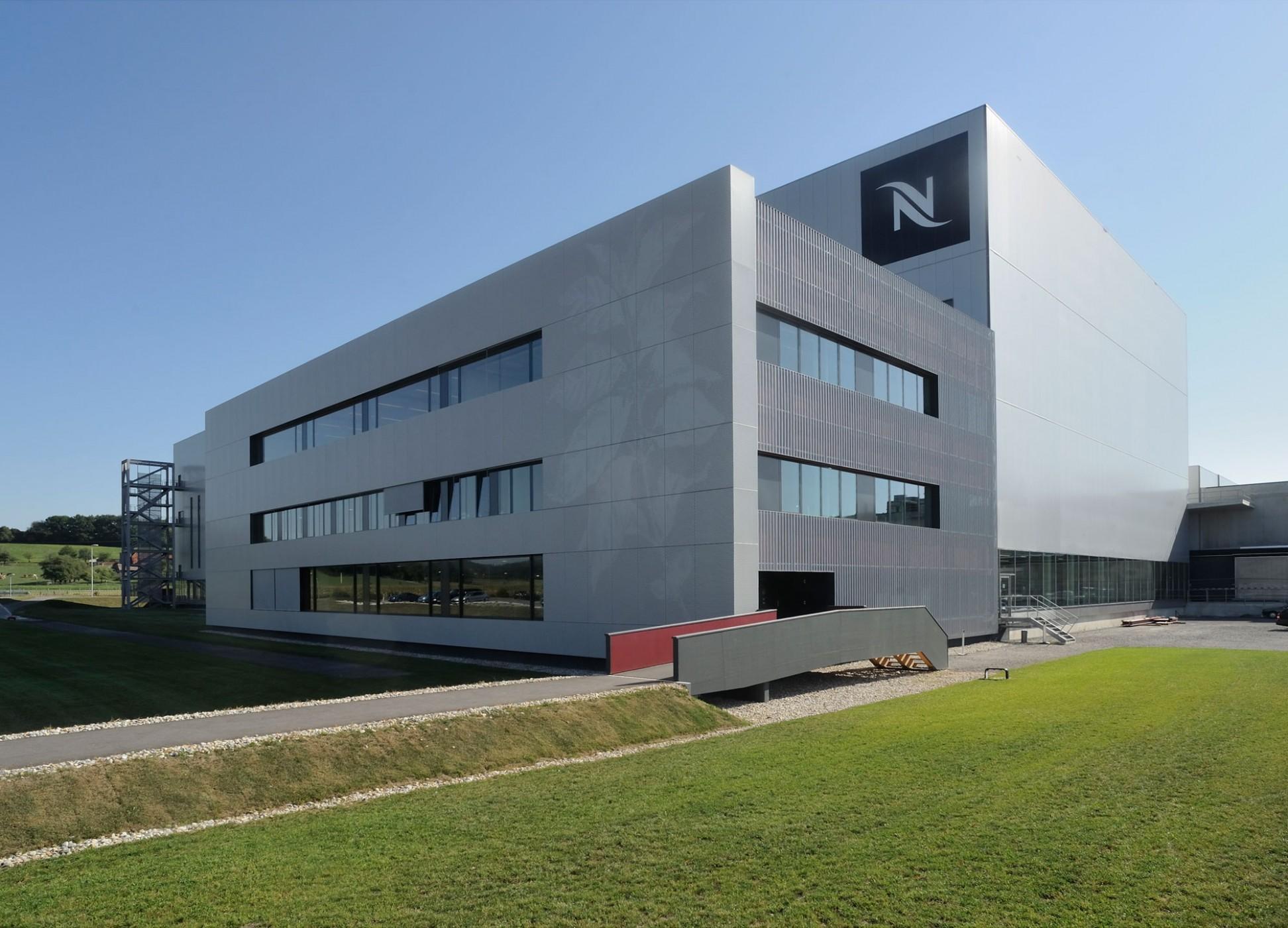 Concept Consult Architectes Nespresso Production And