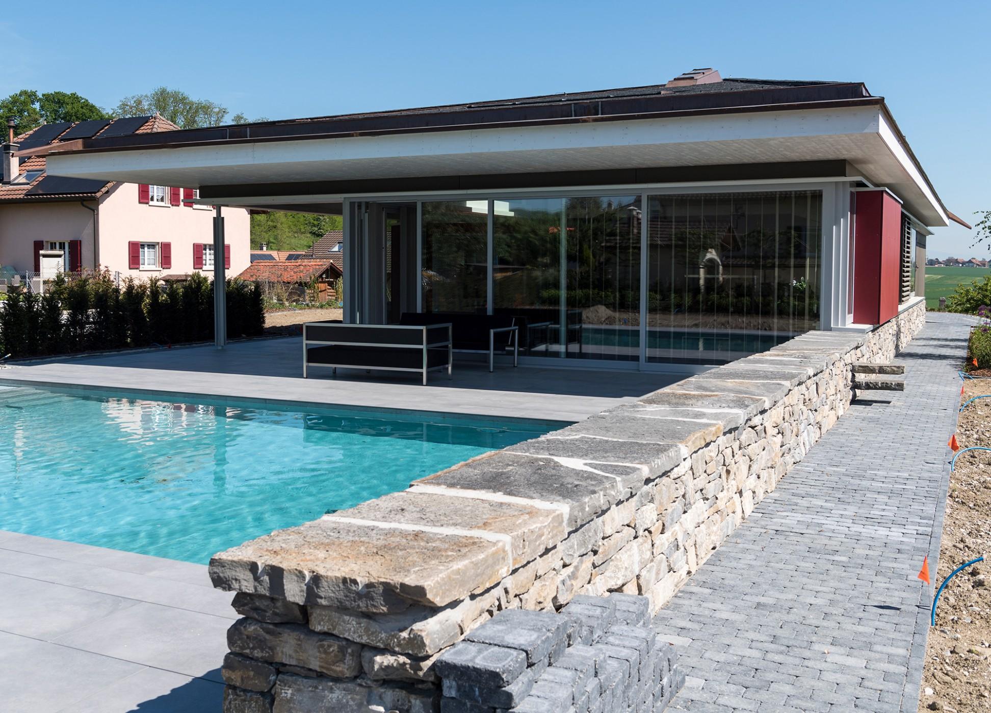 Concept consult architectes villa individuelle for Villa concept construction vedene